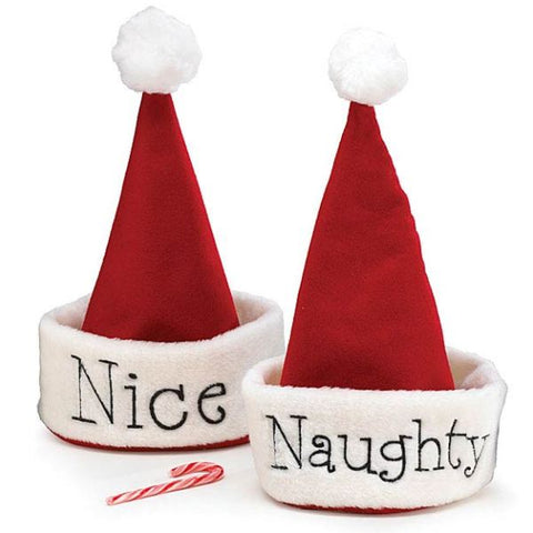 Picture of Naughty or Nice Santa Hat
