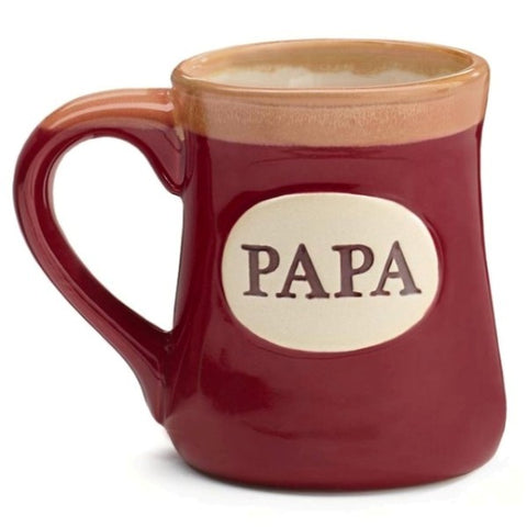 Picture of Papa/Message 18 oz. Porcelain Mugs - 4 Pack