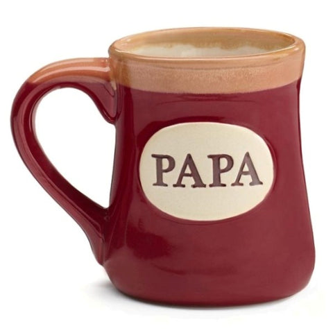 Picture of Papa/Message 18 oz. Porcelain Mug
