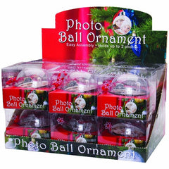 Photo Ball Ornaments - 12 Pack