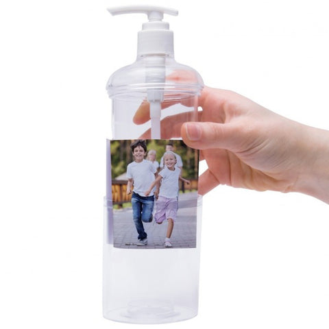 Picture of 9 oz. Photo Soap Dispensers - 6 Pack