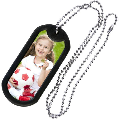 Picture of Photo Dog Tag Chain