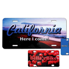 Personalized Photo License Plate