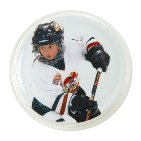 Picture of Pin Back Snap-in Photo Buttons - 12 Pack