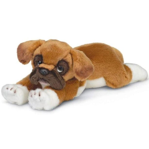 Picture of Plush Boxer Puppy Dog Roscoe