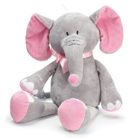 Picture of Plush Pink/Gray Elephants - 4 Pack