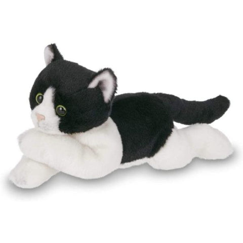Picture of Plush Stuffed Black and White Cat Lil' Domino