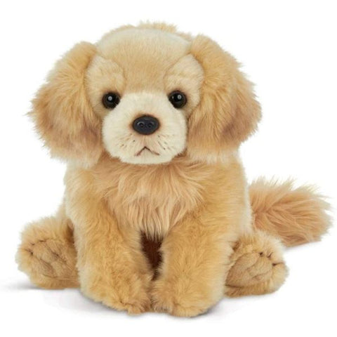 Picture of Plush Stuffed Golden Retriever Dog Goldie