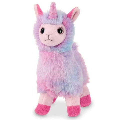 Picture of Plush Stuffed Animal Rainbow Llamacorn Lil' Luna
