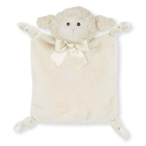 Picture of Plush Stuffed Animal Lovey Security Blanket Wee Lamby Lamb Blankies - 4 Pack