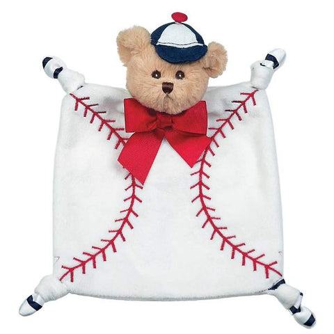 Picture of Plush Stuffed Animal Lovey Security Blanket Wee Lil' Sluggler Baseball Blankie