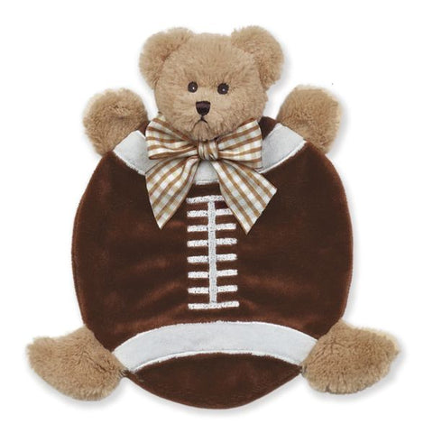 Picture of Plush Stuffed Animal Lovey Security Blanket Wee Touchdown Football Blankie