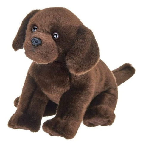 Picture of Plush Stuffed Animal Puppy Dog Chocolate Lab Brody