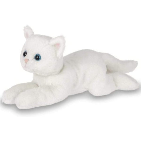Picture of Plush Stuffed Animal White Cat Lil' Muffin