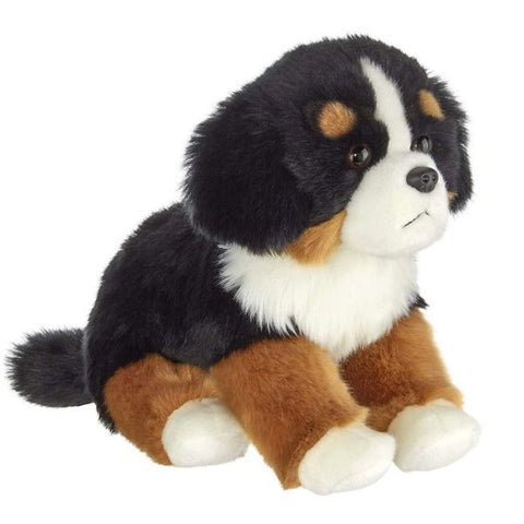 Picture of Plush Stuffed Bernese Mountain Puppy Dog Bernie