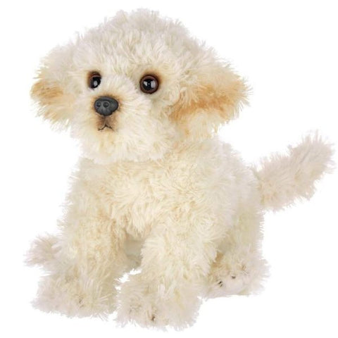 Picture of Plush Stuffed Labradoodle Puppy Dog Bisquit