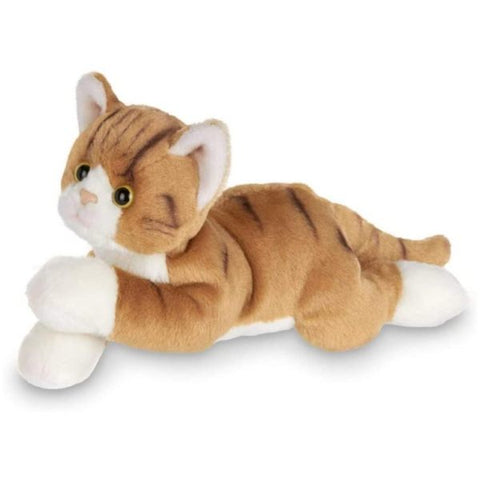 Picture of Plush Stuffed Light Brownish Orange Striped Cat Lil' Tabby