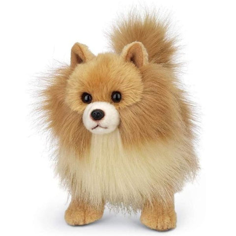 Picture of Plush Stuffed Pomeranian Dog Rudy