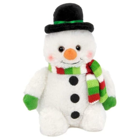 Picture of Plush Stuffed Snowman Snowball