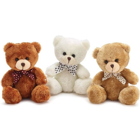 Picture of Plush Beige/Rust/White Bear Set