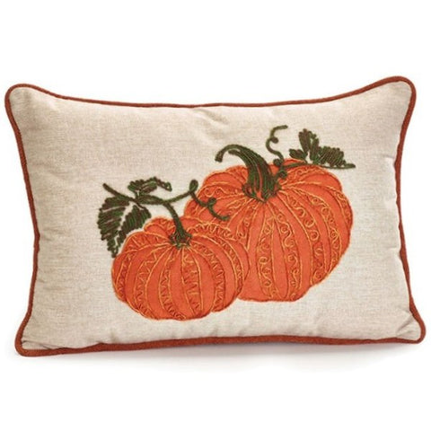 Picture of Rectangular Pillow with Pumpkins