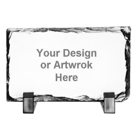 Picture of Rectangular Stone Photo Slates with Your Own Design