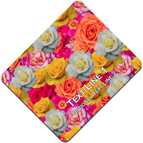 Picture of Custom Rose Fabric Mouse Pad
