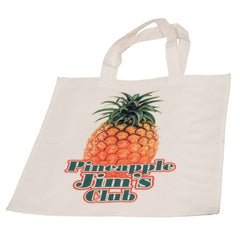 White Canvas Tote Bag with Your Own Design