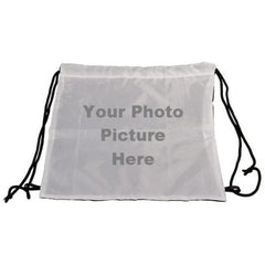 Drawstring Backpack/Backsack with Photo Picture Front