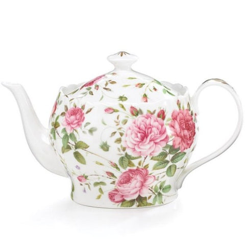 Picture of Saddlebrooke Porcelain Pink Rose Teapot