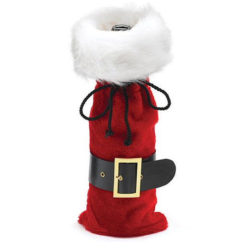Picture of Santa Belt Wine Bottle Bag