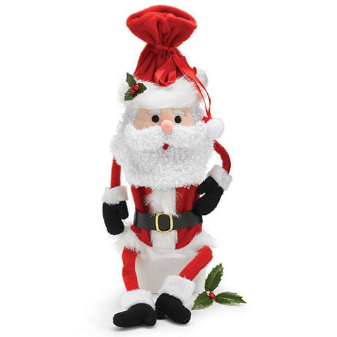 Picture of Santa Claus Wine Bottle Bag