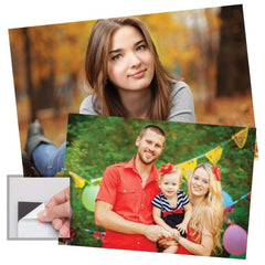 Self-Adhesive Photo Magnets - 12 Pack