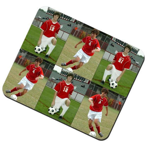 Picture of Six Photos Collage Fabric Mouse Pad