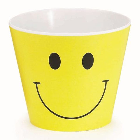 Picture of Smiley Face Melamine Pot Cover - 6 Pack