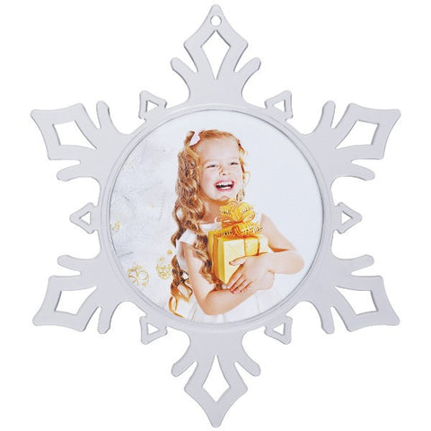 Picture of Snowflake Photo Ornaments - 12 Pack