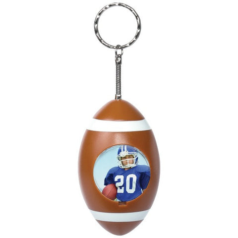Picture of Football Photo Snap-in Keychains - 6 Pack