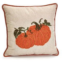Square Pillow with Pumpkins - 2 Pack
