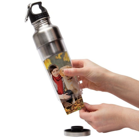 Picture of Stainless Steel Water Bottles - 6 Pack