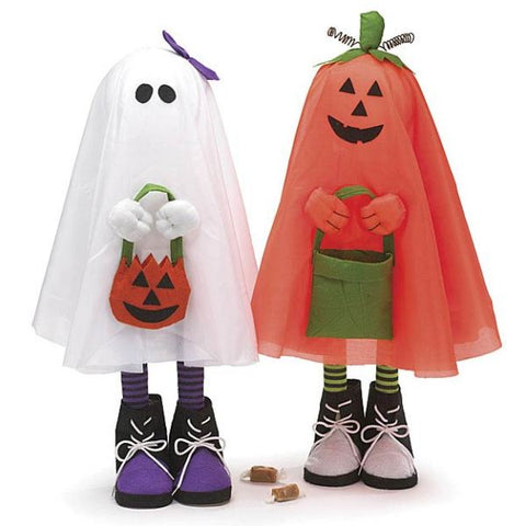 Picture of Standing Halloween Trick or Treat Pals - Pack of 2 Sets