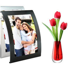 Steel Curved Picture Frames - 2 Pack