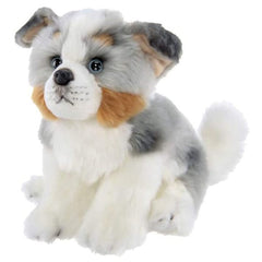 Stuffed Animal Puppy Dog Plush Australian Shepherd Hogan
