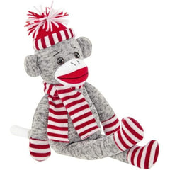 Stuffed Animal Sock Monkey Socks