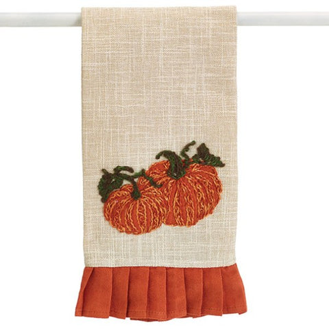 Picture of Tea Towel with Pumpkins