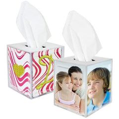 Photo Tissue Box Holder