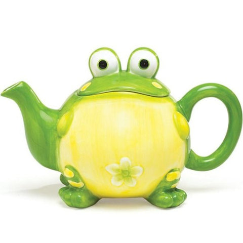 Picture of Toby the Toad Frog Teapot