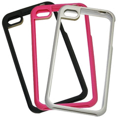 Switchable Hardshell Flex-frame Case for iPhone 4/4s Cell Phone