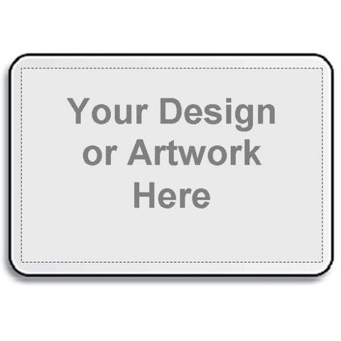 Picture of White Fabric Placemat with Your Own Design