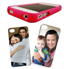 Flex-frame Case and Backplate Insert Set for iPhone 4/4s Cell Phone