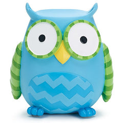 WHO'S CUTEST BOY Blue Owl Resin Bank